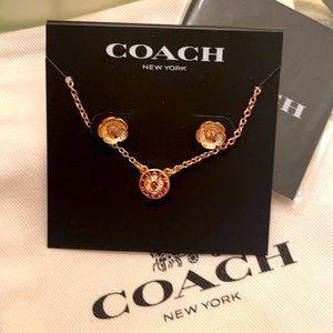 Coach earring set